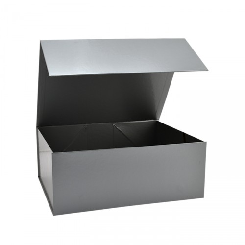 Silver Magnetic Boxes