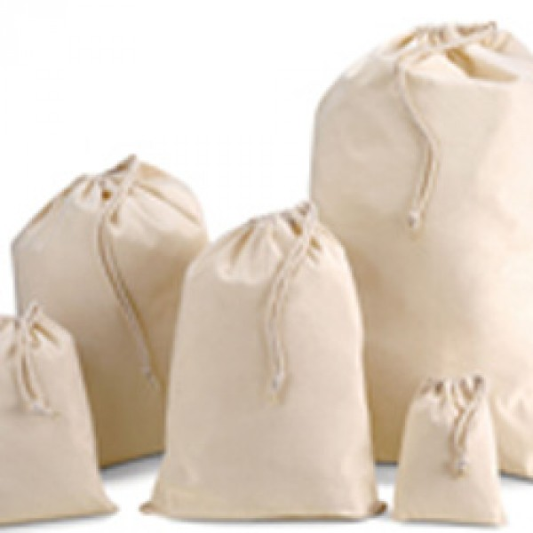 Cotton Bags Drawstring