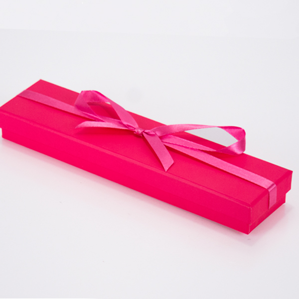 Bright Pink Jewellery Boxes Necklace